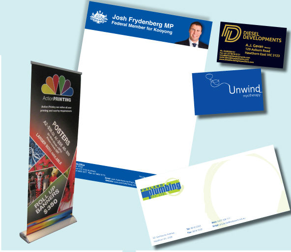 Action printing hawthorn business cards reheart Choice Image